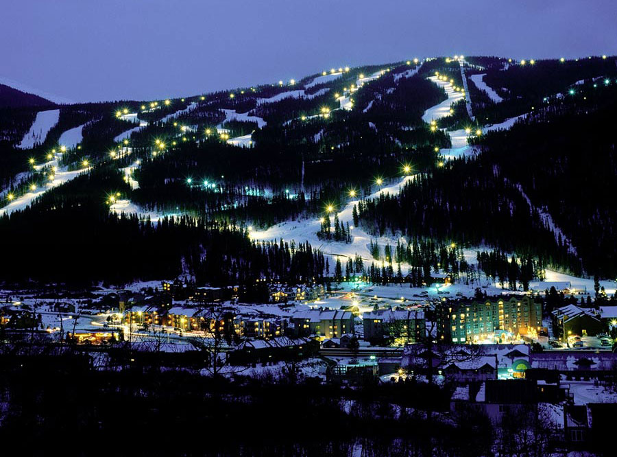 Keystone CO night ski